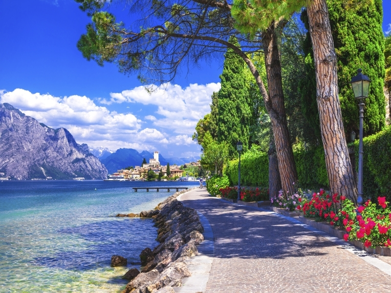 Lake Garda Late Deal Flying direct from Aberdeen