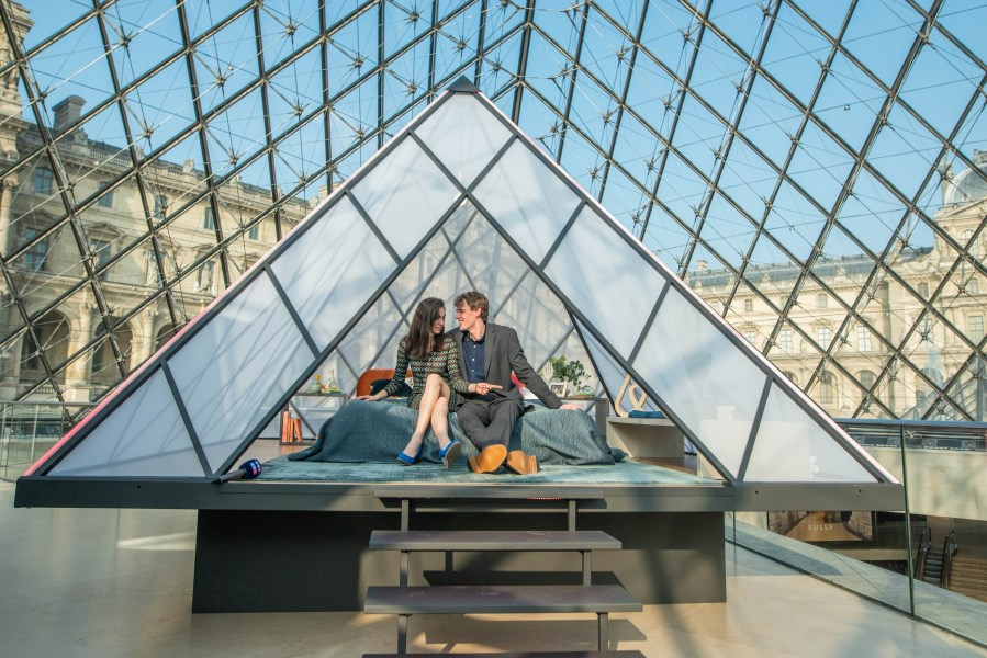 Airbnb competition winners first to stay in Louvre in